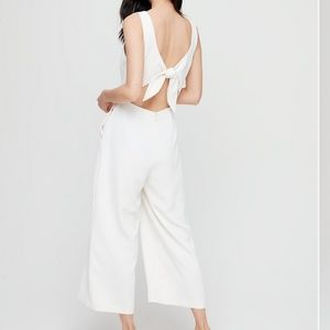 Wilfred Ecoulement ivory cropped Jumpsuit